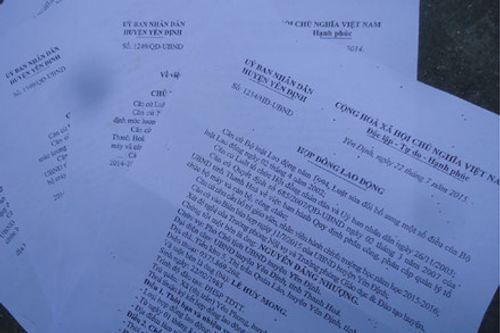 647 giáo viên có hợp đồng ở Thanh Hóa đồng loạt bị sa thải - Ảnh 2