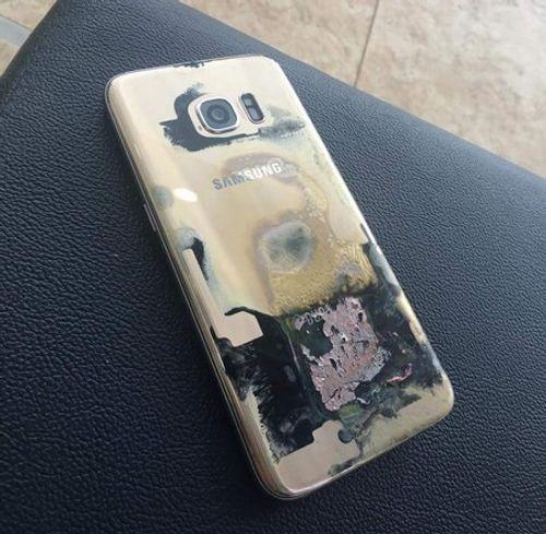 Thêm trường hợp Galaxy S7 edge bốc cháy - Ảnh 1