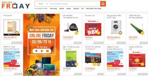 68.200 sản phẩm khuyến mãi trong Ngày mua sắm Online Friday - Ảnh 1