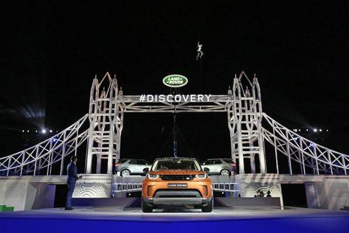 Land Rover Discovery ra mắt tại triển lãm ô tô Paris 2016 - Ảnh 1