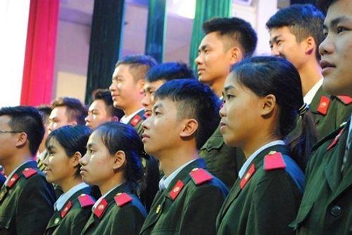 Học viện An ninh nhân dân mở lớp đào tạo trinh sát chất lượng cao - Ảnh 1