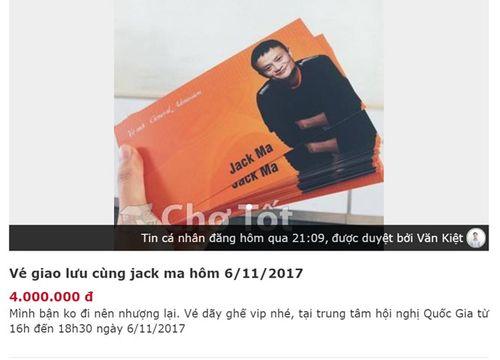 """Cả chục triệu đồng cho chiếc vé """"chợ đen"""" nghe Jack Ma nói chuyện làm giàu - Ảnh 1"""
