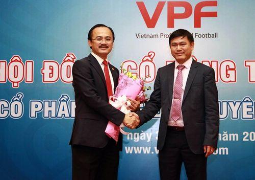 Ông Trần Anh Tú giữ chức Chủ tịch VPF thay bầu Thắng - Ảnh 1
