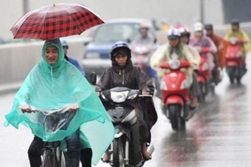 Miền Bắc chuẩn bị gió mùa Đông Bắc, mưa dông xảy ra trên diện rộng - Ảnh 1