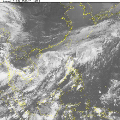 Tin mới nhất về áp thấp nhiệt đới trên Biển Đông - Ảnh 1