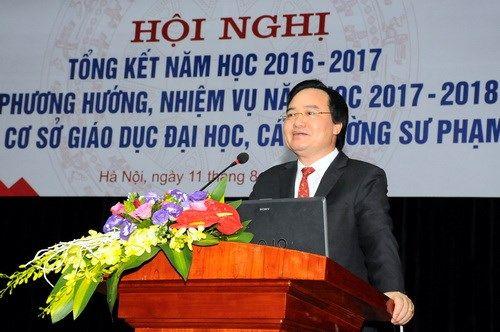 """Bộ trưởng Phùng Xuân Nhạ lý giải """"mưa"""" điểm 10 kỳ thi THPT quốc gia 2017 - Ảnh 1"""