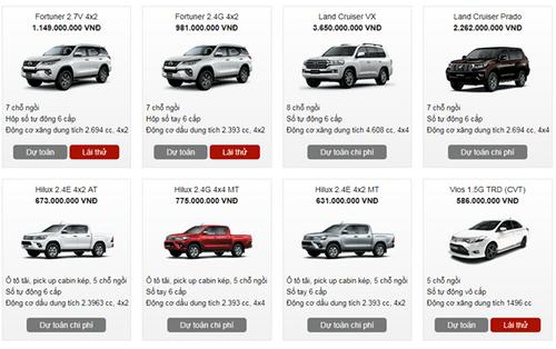 Bảng giá xe Toyota mới nhất tháng 1/2018 tại Việt Nam - Ảnh 3