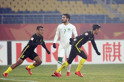 """U23 Malaysia lập """"cơn địa chấn"""" tại VCK U23 châu Á - Ảnh 1"""