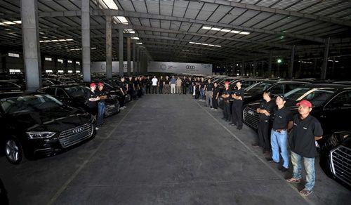 Lô xe Audi phục vụ APEC: Đóng gần 400 tỷ đồng tiền thuế - Ảnh 1