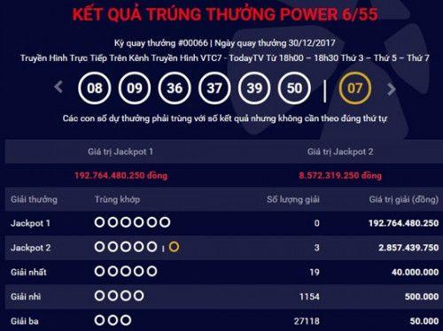 Kết quả xổ số Vietlott hôm nay 2/1: Jackpot hơn 192 tỷ sẽ về tay ai? - Ảnh 1