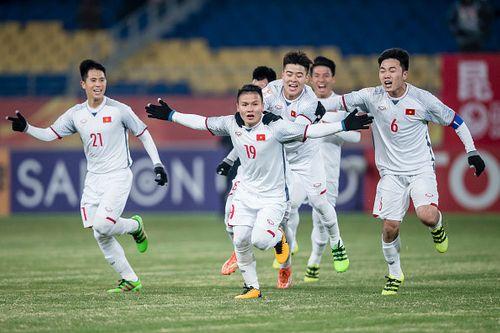 U23 Việt Nam vs U23 Qatar 2 - 2: Chiến thắng nghẹt thở, tiến thẳng chung kết! - Ảnh 2