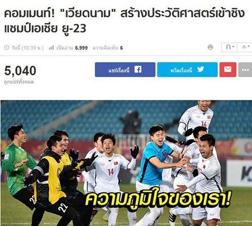 Truyền thông quốc tế: Cả Đông Nam Á hô vang tên U23 Việt Nam - Ảnh 1
