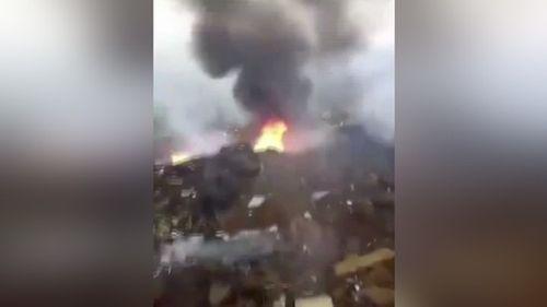 Đang diễn tập, máy bay quân sự Trung Quốc bất ngờ gặp nạn - Ảnh 1