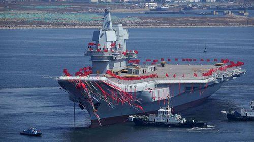 Tàu sân bay thứ hai của Trung Quốc sẽ hạ thủy sau Tết Nguyên đán? - Ảnh 1