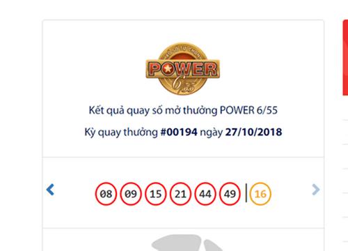 """Kết quả xổ số Vietlott hôm nay 30/10/2018: Đi tìm """"chìa khóa"""" Jackpot 30 tỷ đồng - Ảnh 1"""