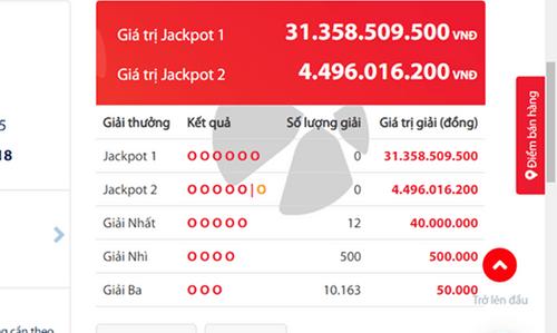 """Kết quả xổ số Vietlott hôm nay 1/11/2018: Jackpot 31 tỷ đồng chơi """"trốn tìm"""" - Ảnh 2"""