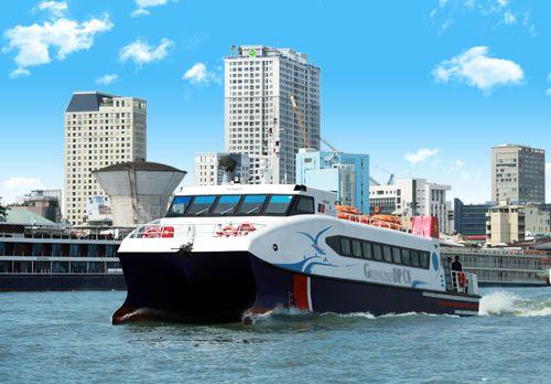 Khai trương tàu cao tốc Sài Gòn - Cần Giờ - Vũng Tàu dịp cận Tết Nguyên đán - Ảnh 1