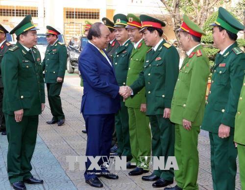 Thủ tướng Chính phủ Nguyễn Xuân Phúc xông đất, chúc Tết tại Đà Nẵng - Ảnh 1