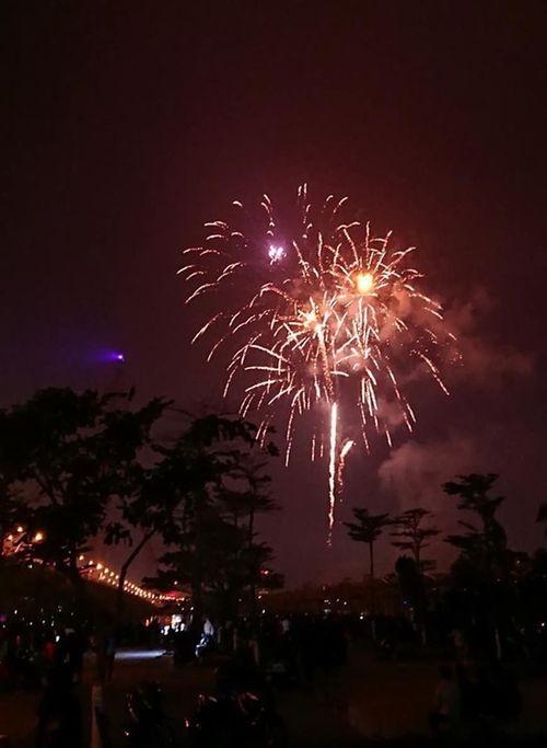 Ngắm màn pháo hoa rực sáng mừng năm mới trên cả nước - Ảnh 10