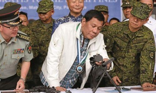 Philippines muốn đưa binh sĩ tới Trung Quốc huấn luyện - Ảnh 1