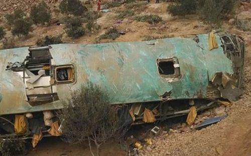 Tai nạn xe buýt thảm khốc ở Peru, ít nhất 44 người chết - Ảnh 1