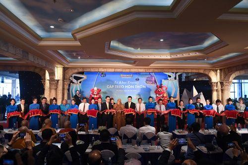 Tuyến cáp treo dài nhất thế giới chính thức khai trương tại Phú Quốc - Ảnh 1