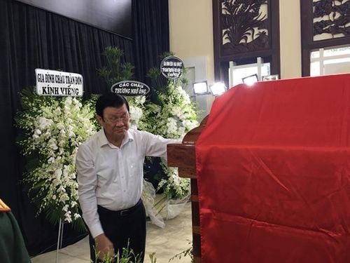 Nguyên Chủ tịch nước Trương Tấn Sang: Ông Sáu Khải là người gần gũi, thân tình - Ảnh 5