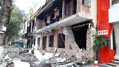 Vụ nổ kinh hoàng tại nhà hàng ở Nghệ An: Nhà rung bần bật, ngỡ là động đất - Ảnh 1