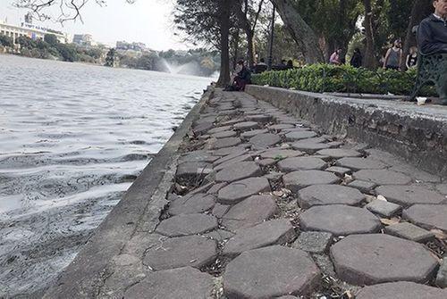 Hơn 93% người dân Hà Nội ủng hộ làm mới vỉa hè hồ Hoàn kiếm - Ảnh 1
