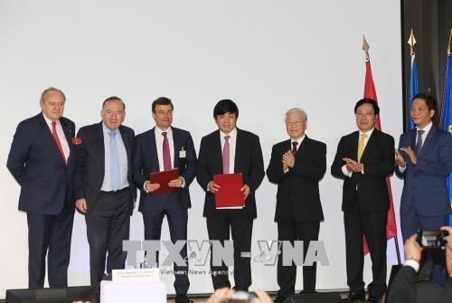 Tổng Bí thư Nguyễn Phú Trọng: Mong doanh nghiệp Pháp thành công tại Việt Nam - Ảnh 2