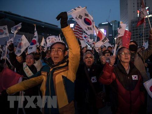 Hàn Quốc sẽ tiến hành điều tra kế hoạch đàn áp biểu tình - Ảnh 1