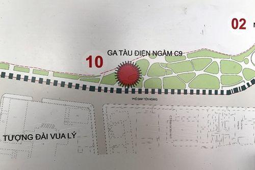 Lấy ý kiến người dân về việc xây ga tàu điện ngầm cạnh hồ Gươm - Ảnh 1