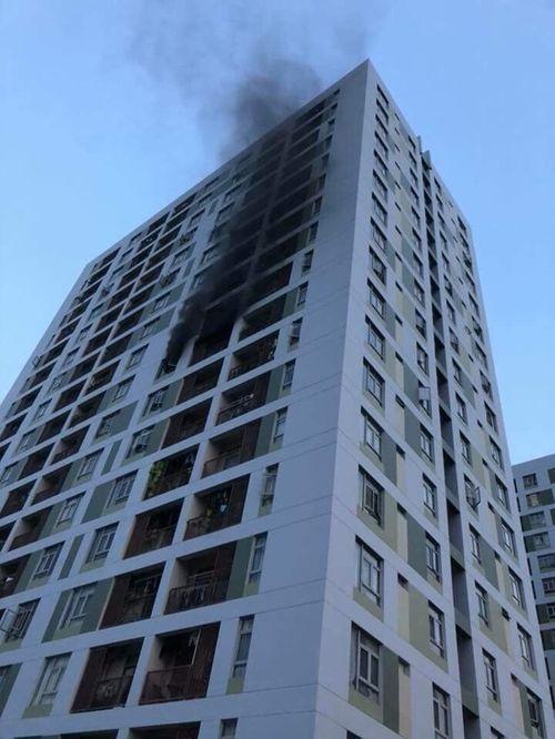 Cháy chung cư Parc Spring ở Sài Gòn: Hàng trăm cư dân vừa chạy vừa la khóc - Ảnh 2