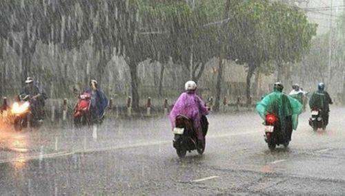 Dự báo thời tiết ngày 29/4: Bắc Bộ mưa rào, Nam Bộ nắng nóng 36 độ C - Ảnh 1
