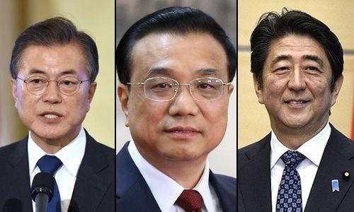 Nhật Bản tổ chức cuộc họp thượng đỉnh với Trung Quốc, Hàn Quốc - Ảnh 1