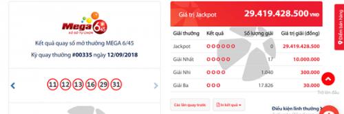 Kết quả xổ số Vietlott hôm nay 15/9/2018: Giải mã bí ẩn Jackpot hơn 55 tỷ - Ảnh 1