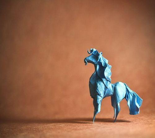 Ngắm bộ sưu tập origami động vật sinh động của nghệ sĩ Tây Ban Nha - Ảnh 4