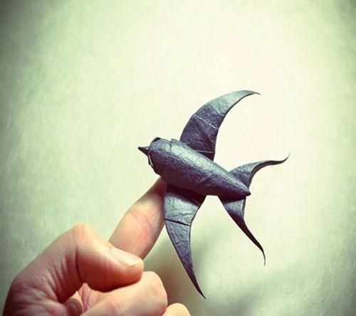 Ngắm bộ sưu tập origami động vật sinh động của nghệ sĩ Tây Ban Nha - Ảnh 12