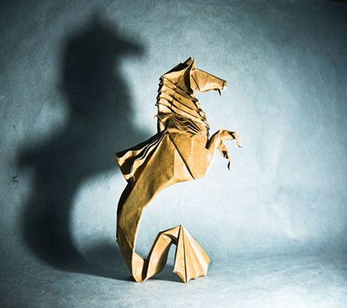 Ngắm bộ sưu tập origami động vật sinh động của nghệ sĩ Tây Ban Nha - Ảnh 7
