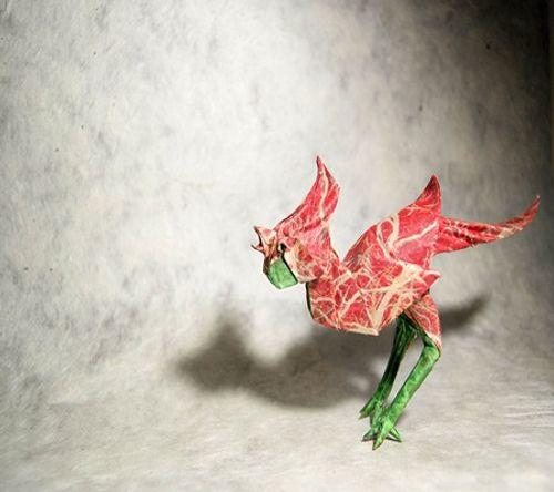 Ngắm bộ sưu tập origami động vật sinh động của nghệ sĩ Tây Ban Nha - Ảnh 9