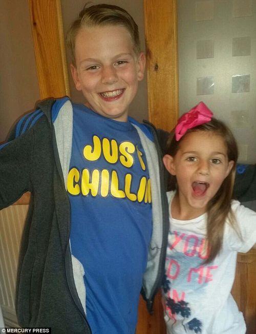 Cậu bé 11 tuổi cứu sống em gái nhờ việc thường xuyên cười đùa cùng em - Ảnh 1