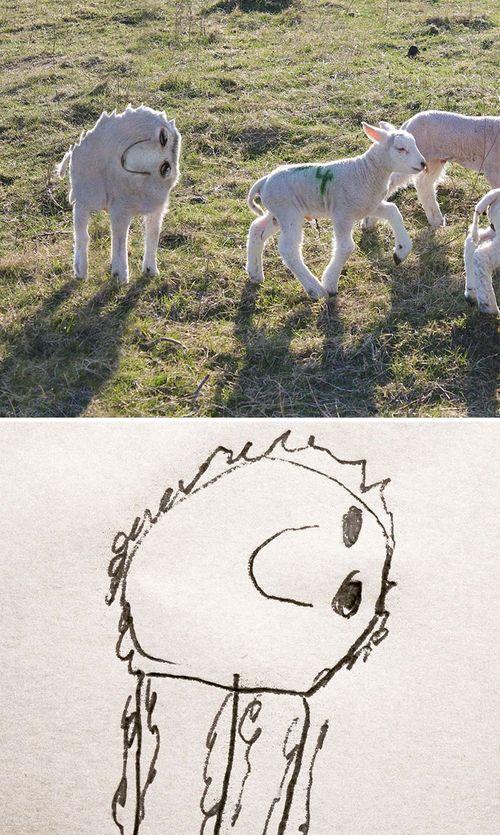 Bố hóa bản vẽ của con thành phiên bản thực tế vô cùng hài hước - Ảnh 10