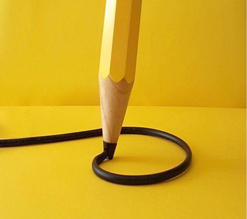 Ngắm những thiết kế đèn bàn lấy ý tưởng từ… bút chì - Ảnh 3