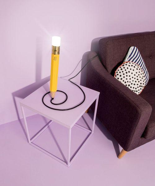 Ngắm những thiết kế đèn bàn lấy ý tưởng từ… bút chì - Ảnh 4