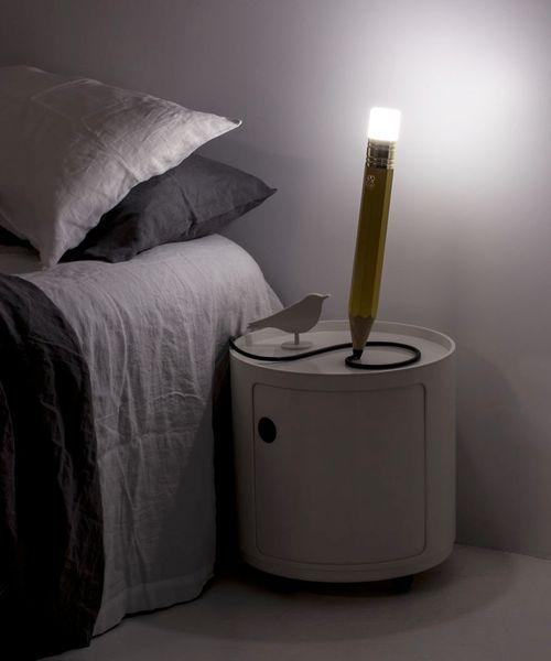 Ngắm những thiết kế đèn bàn lấy ý tưởng từ… bút chì - Ảnh 6