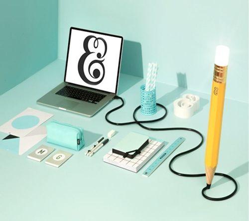 Ngắm những thiết kế đèn bàn lấy ý tưởng từ… bút chì - Ảnh 7