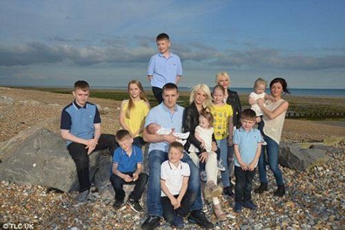 Cuộc sống của cặp vợ chồng có 12 đứa con - Ảnh 1