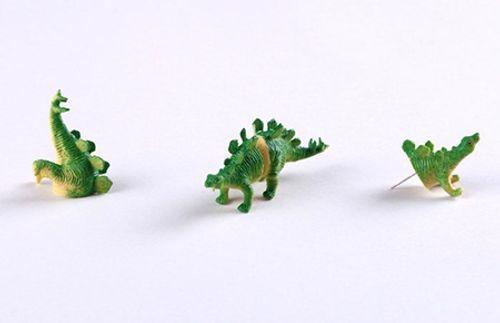 Chiêm ngưỡng đôi bông tai khủng long cực độc – lạ - Ảnh 4