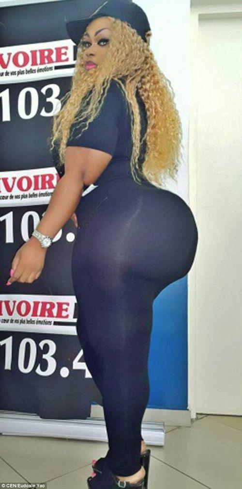 Cô gái có vòng 3 khủng nhất Tây Phi - Ảnh 4