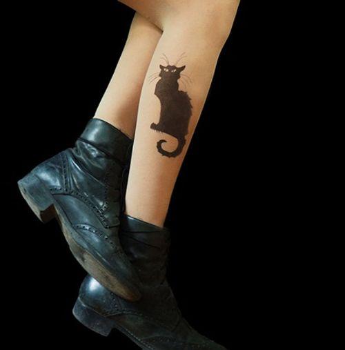 """Bộ sưu tập """"vớ Tattoo"""" tạo dáng cho đôi chân cá tính hơn - Ảnh 10"""